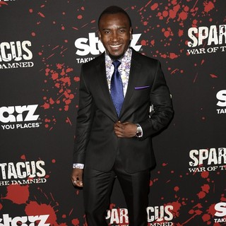 Blessing Mokgohloa in U.S. Premiere Screening of Spartacus: War of the Damned