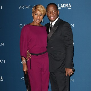 Mary J. Blige, Kendu Isaacs in LACMA 2013 Art and Film Gala Honoring Martin Scorsese and David Hockney Presented by Gucci