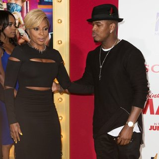 Mary J. Blige, Ne-Yo in Film Premiere of Think Like a Man Too