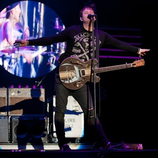 Tom DeLonge, Blink-182 in Leeds Festival 2010 - Day 2