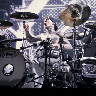 Travis Barker, Blink-182 in Blink-182 Performing Live