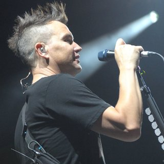 Mark Hoppus, Blink-182 in Blink-182 Performing Live on Stage