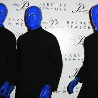 Blue Man Group in Grand Opening of Barneys New York