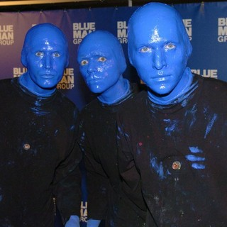 Blue Man Group in Photocall for The Blue Man Group