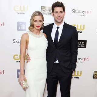Emily Blunt, John Krasinski in 18th Annual Critics' Choice Movie Awards