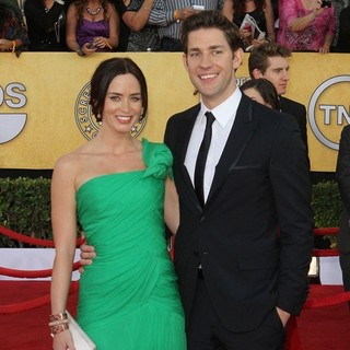 Emily Blunt, John Krasinski in The 18th Annual Screen Actors Guild Awards - Arrivals