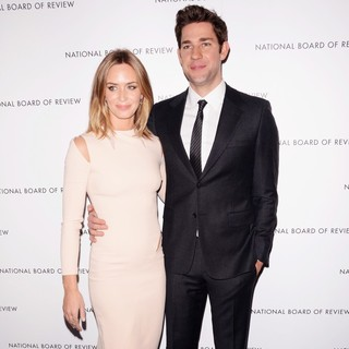 Emily Blunt, John Krasinski in The 2013 National Board of Review Awards Gala - Arrivals