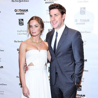 Emily Blunt, John Krasinski in The Independent Film Project's 22nd Annual Gotham Independenent Film Awards
