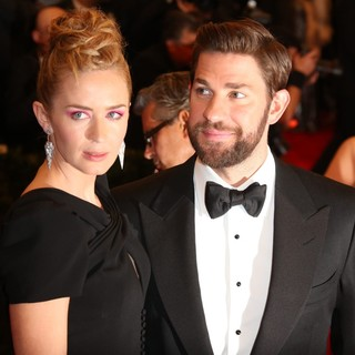 Emily Blunt, John Krasinski in PUNK: Chaos to Couture Costume Institute Gala