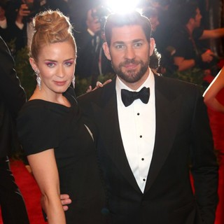 John Krasinski in PUNK: Chaos to Couture Costume Institute Gala - blunt-krasinski-chaos-to-couture-costume-institute-gala-02