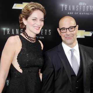 Stanley Tucci - New York City Premiere of Transformers: Age of Extinction