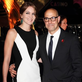 Felicity Blunt, Stanley Tucci in The World Premiere of The Hunger Games: Catching Fire - Arrivals