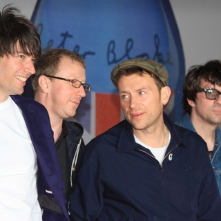 Blur in The BRIT Awards 2012 - Arrivals