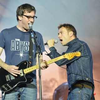 Graham Coxon, Damon Albarn, Blur in BT London Live - Performances