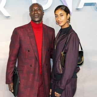 Ozwald Boateng, Emilia Boateng in World Premiere of Aquaman - Arrivals