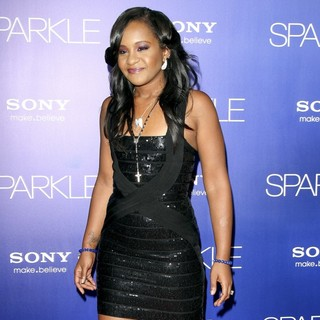 Bobbi Kristina Brown in The Los Angeles Premiere of Sparkle - Inside Arrivals