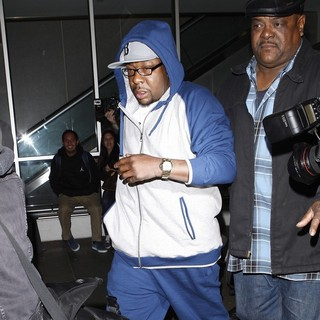 Bobby Brown in Bobby Brown Arrives at LAX Airport One Day After The Unexpected Death of His Ex-Wife Whitney Houston