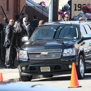 Bobby Brown in The Funeral of Whitney Houston