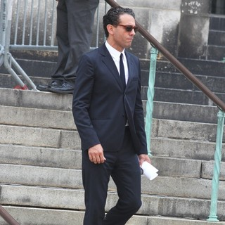 Bobby Cannavale in The Funeral Service for Actor James Gandolfini