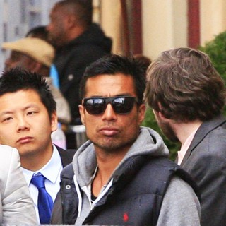 Bobby Petta in World War Z Filming on Location