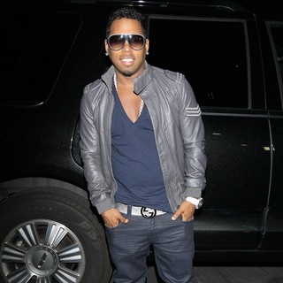Bobby V in Bobby V Arriving Prior to His Performance at The Fusions Bar and Grill in Ontario