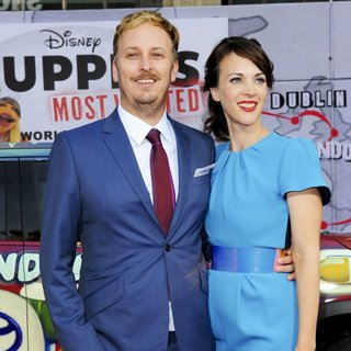 James Bobin, Fran Beauman in Los Angeles Premiere of Disney's Muppets Most Wanted - Red Carpet Arrivals
