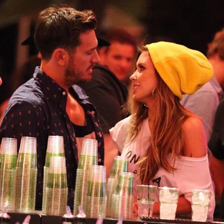 Corey Bohan, Audrina Patridge in The 2013 Coachella Valley Music and Arts Festival - Week 1 Day 1