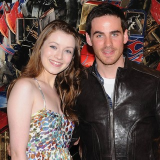 Sarah Bolger, Colin O'Donoghue in Transformers 3: Dark of the Moon Irish Premiere