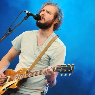 Justin Vernon, Bon Iver in Bon Iver Performing at The 2009 Glastonbury Festival - Day 3