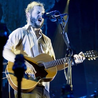 Justin Vernon, Bon Iver in Bon Iver Perform A Headlining Gig