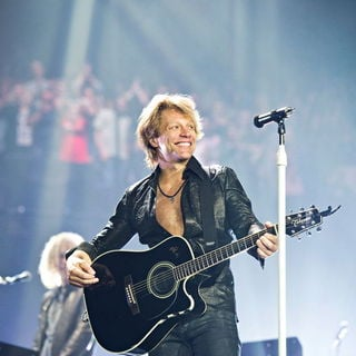 Jon Bon Jovi in Bon Jovi Performing Live on The First Night of Their Month Long Residency