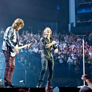Bon Jovi Performing Live on The First Night of Their Month Long Residency