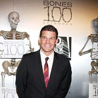 "David Boreanaz in The ""Bones"" 100th Show Party"