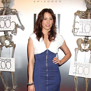 "Michaela Conlin in The ""Bones"" 100th Show Party"