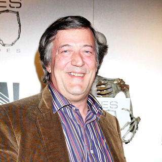 "Stephen Fry in The ""Bones"" 100th Show Party"