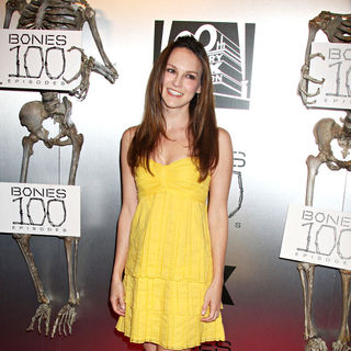 "Carla Gallo in The ""Bones"" 100th Show Party"