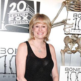 "Kathy Reichs in The ""Bones"" 100th Show Party"