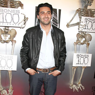 "Pej Vahdat in The ""Bones"" 100th Show Party"