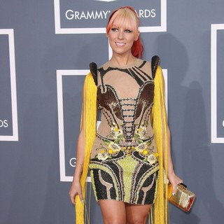 Bonnie McKee in 54th Annual GRAMMY Awards - Arrivals