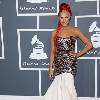 Bonnie McKee in 55th Annual GRAMMY Awards - Arrivals