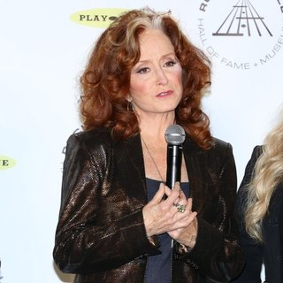 Bonnie Raitt in 29th Annual Rock and Roll Hall of Fame Induction Ceremony