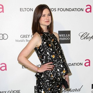 Bonnie Wright in 21st Annual Elton John AIDS Foundation's Oscar Viewing Party