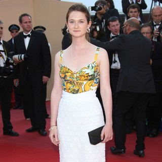Bonnie Wright in On the Road Premiere - During The 65th Cannes Film Festival
