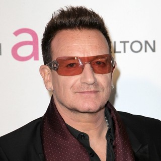 Bono in 21st Annual Elton John AIDS Foundation's Oscar Viewing Party