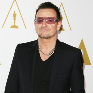 Bono, U2 in The 86th Oscars Nominees Luncheon - Arrivals