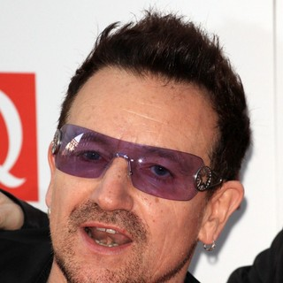Bono in The Q Awards 2011 - Arrivals