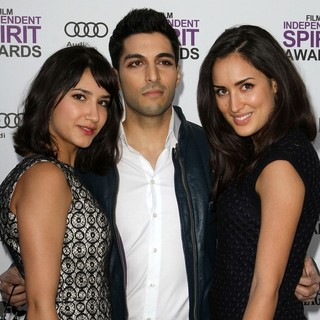 Nikohl Boosheri, Keon Mohajeri, Sarah Kazemy in 27th Annual Independent Spirit Awards - Arrivals