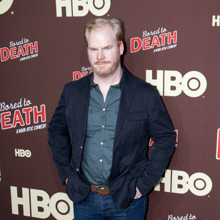 "Jim Gaffigan in Premiere of ""Bored to Death"" Season 2 - Arrivals"