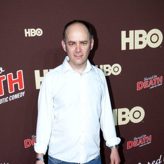 "Todd Barry in Premiere of ""Bored to Death"" Season 2 - Arrivals"
