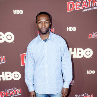 "Jamie Hector in Premiere of ""Bored to Death"" Season 2 - Arrivals"